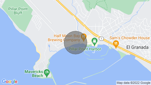 Modern Luxury Ocean Front Home Map