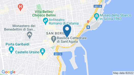 Akemi House Catania Luxury Accomodations Map