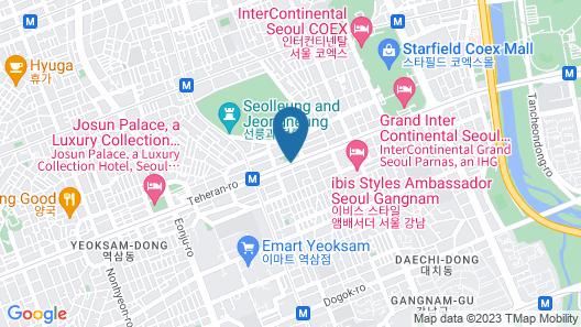 L7 Gangnam by LOTTE Map