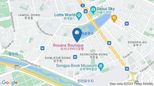 Rosana Boutique Hotel Map