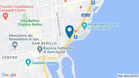 Hotel Villa Romeo Map
