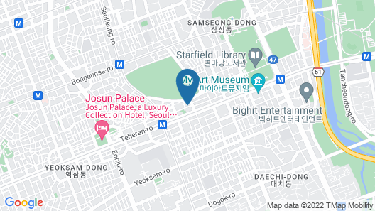 Seolleung Bed Station Map