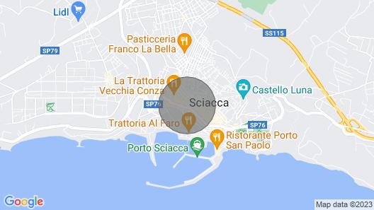 Elegant city center suite Map