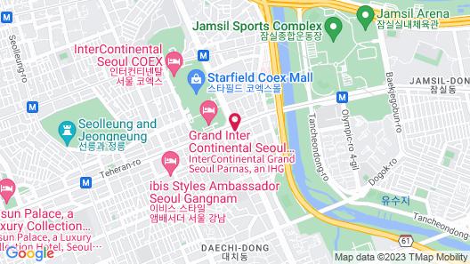 Park Hyatt Seoul Map