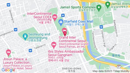 Grand InterContinental Seoul Parnas, an IHG Hotel Map