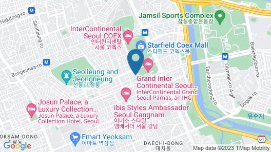 Hotel Peyto Samseong Map