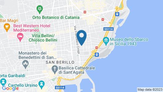 Hotel La Ville Map