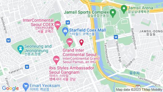 GLAD Gangnam COEX Center Map