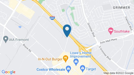 Holiday Inn Express Fremont-Milpitas Central, an IHG Hotel Map