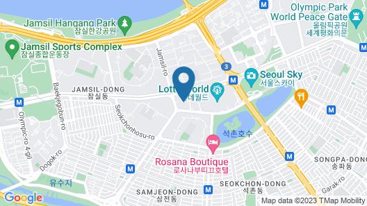 JAMSIL WORLDTOWER GALLERIA APT B Map