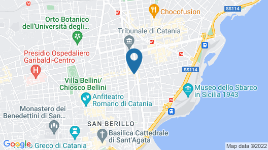 Katane Palace Hotel Map