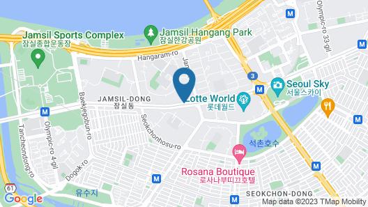 Ricenz Condominium Tower Seoul Map