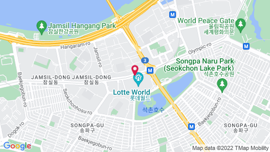 Lotte Hotel World Map