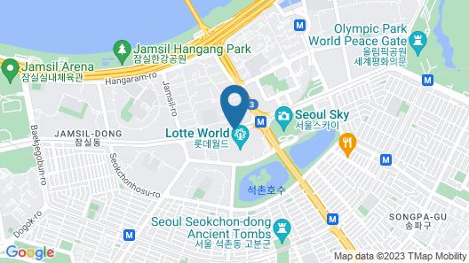 Lotte Hotel World Map