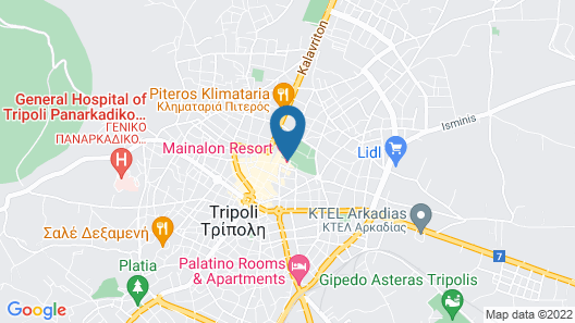 Mainalon Resort Map