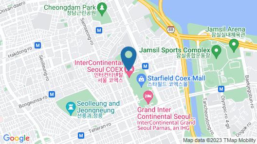 InterContinental Seoul COEX, an IHG Hotel Map