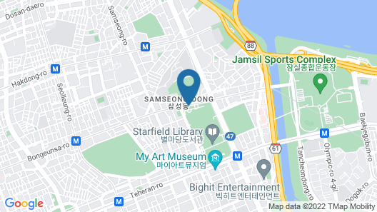 InterContinental Seoul COEX Map