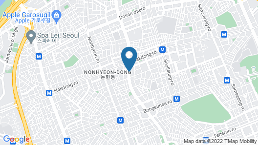Imperial Palace Seoul Map