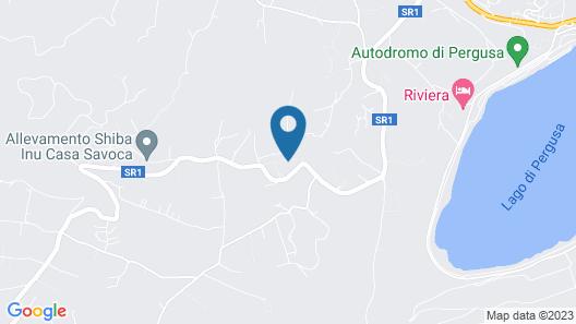 Villa Isabella Enna Map