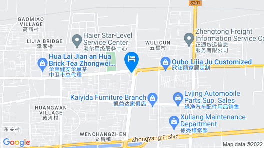 Xinhua International Hotel Map
