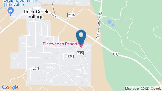 Pinewoods Resort Map