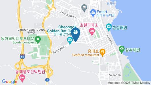 Hyunjin Tourist Hotel Map