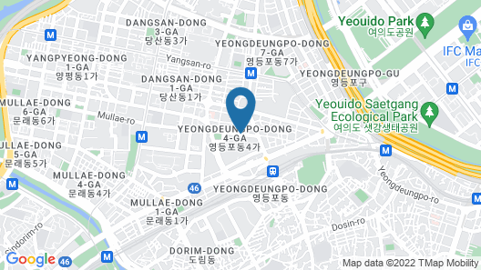 Courtyard by Marriott Seoul Times Square Map