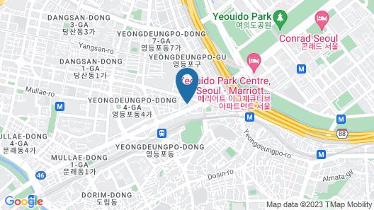 Boutique Hotel SB Seoul Map