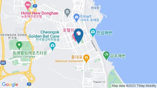 Elysian Hotel Map