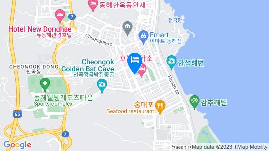 Dono Hotel Map