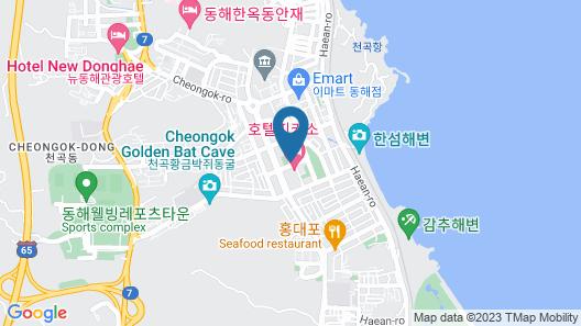 Donghae Gloria Tourist Hotel Map