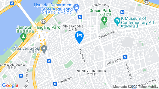 Four Points by Sheraton Gangnam Map