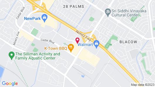Doubletree by Hilton Newark - Fremont Map