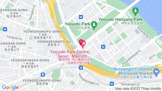 Marriott Executive Apartments Seoul Map