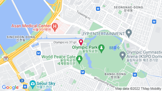 SEOUL OLYMPIC PARKTEL Map