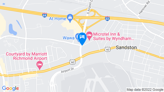 Microtel Inn & Suites by Wyndham Richmond Airport Map