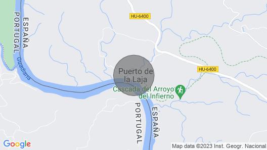Casa de las Latrinas Bajas, Baixo / bajo Guadiana Map