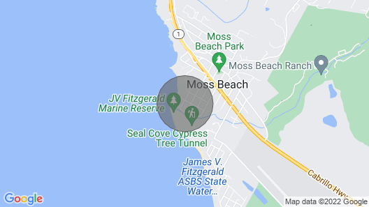 Fitzgerald Marine Reserve Beach Cottage Map
