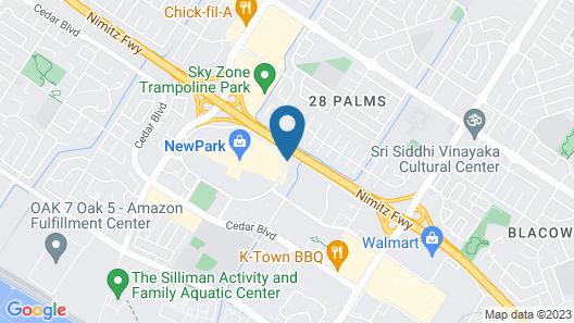 SpringHill Suites by Marriott Newark Fremont Map