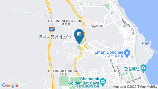 New Donghae Hotel Map