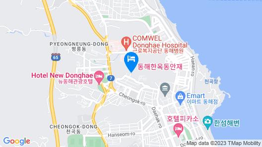 Donghae Hanok Donganjae Map