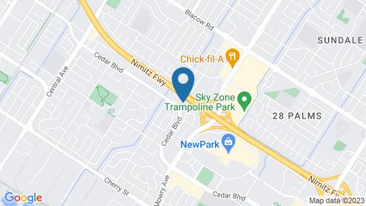 E-Z 8 Motel Newark Map