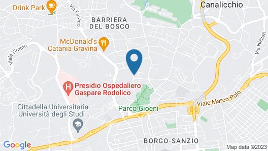 Hotel Villa del Bosco Map