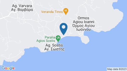 Akrogiali Hotel Map