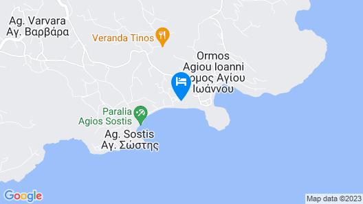 Akti Aegeou Hotel Map