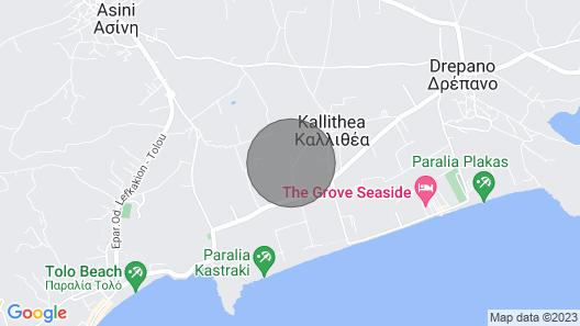 Villa ''jocasta'' in Silence Days Villas Map