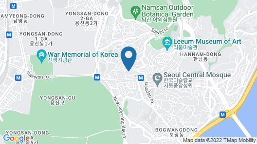SP@Itaewon Guesthouse Map