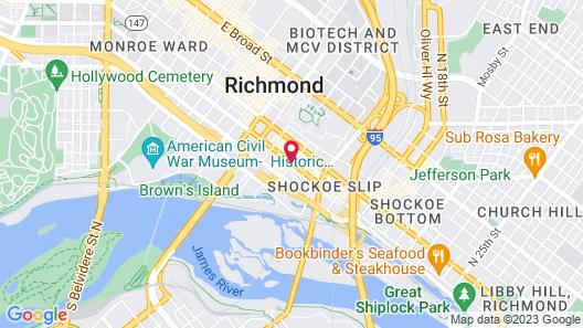 The Berkeley Hotel Map