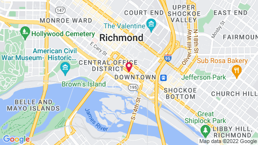 Omni Richmond Hotel Map