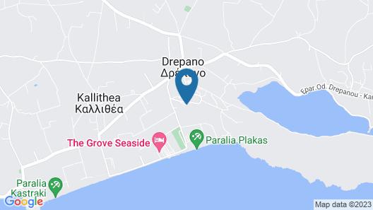 Alexandros Apartments Map